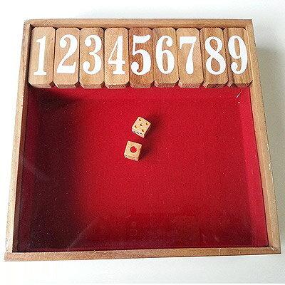 ジャックポット ダイス ゲーム(木製) Mサイズ 英語版【送料無料】Jackpot Dice Game (Wood) 並行輸入品※沖縄・北海道・九州・離島は送料別です※お得品のため、ラッピング不可