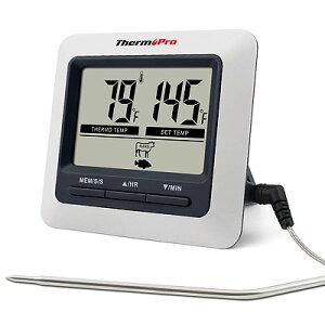 デジタル温度計 TP-04 ThermoPro TP04 送料無料※箱なし 英語説明書 マグネット付き 収納型卓上スタンドグリル、オーブン、BBQ、燻製作り※電池別売り※代引き・ニッセン後払いはできません