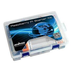 OSOYOO Raspberry Pi 3 学ぶ電子工作キット【送料無料】ラズベリー パイ初心者演習用パーツセット回路配線図 マイクロサーボ プログラミングLED制御 スイッチ I2C LCD ※配送先、沖縄・九州・北海道・離島のご注文はお受けできません