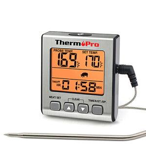 デジタル温度計 TP-16S ThermoPro TP16S ※箱なし【ゆうパケットのみ送料無料】英語マニュアルマグネット付き 収納型卓上スタンドグリル、オーブン、BBQ、燻製作り※電池別売り※代引き・ニッ