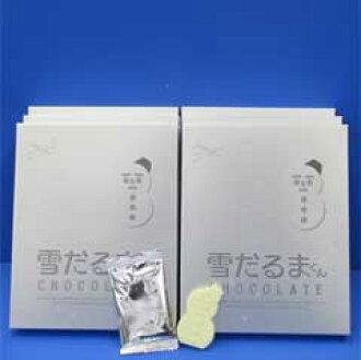 Ishiya's famous 'white lover' makes a snowman chocolate 18 / pkg * 6 box ★ ISHIYA (ishiya)