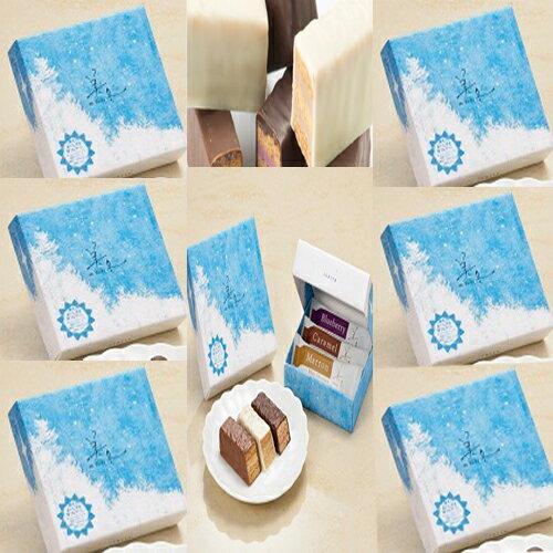送料無料 美冬 3P×6個【白い恋人石屋商事特製ビニール袋6枚付き】バレンタインデー ホワイトデー