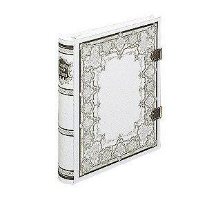 【文具館】ナカバヤシ グレートハイネスアルバムウィンザー ホワイト アH-GL-1001W大切な思い出を古きよきヨーロッパのロマンと共に・・・