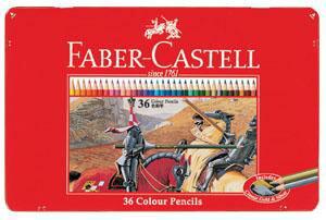 【文具館】【メール便】シヤチハタ ファーバーカステル 色鉛筆 36色 TFC-CP/36C確かな品質、描き心地なめらかな色鉛筆36色