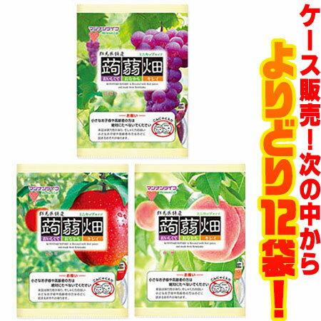 【送料無料!】マンナンライフ 蒟蒻畑 各味 よりどり12袋!ミニカップタイプの蒟蒻畑