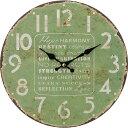 【送料無料!】不二貿易 アンティークウォールクロック GR おしゃれなアンティーク掛け時計