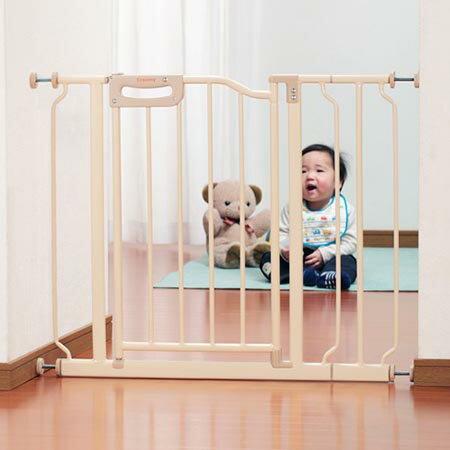 【送料無料!】グリーンライフ ベビーゲートプラス(拡張付) CSP-W93(F)キッチンや階段などお子様が危険な場所に行くのを防ぎます!