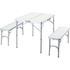 【送料無料!】BUNDOK テーブル&ベンチセット BD-230これ一つであらゆるシーンも大活躍!
