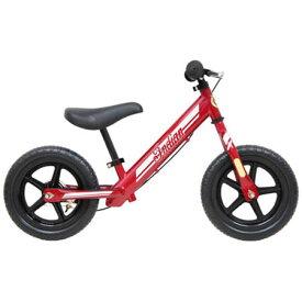 【送料無料!】インディアン ペダルなし自転車 レッド ID-Bオシャレな幼児用ペダルなし自転車