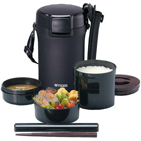 【送料無料!】タイガー 魔法瓶 保温 弁当箱 ステンレス ランチジャー 茶碗約4 杯分 LWU−A202まほうびん構造で、あったかお弁当