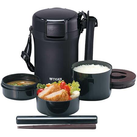 【送料無料!】タイガー 魔法瓶 保温 弁当箱 ステンレス ランチジャー 茶碗約3 杯分 LWU−A172まほうびん構造で、あったかお弁当