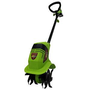 【送料無料!】アルミス 家庭用充電式耕運機「耕す造」 AKT-18Vリチウムイオンバッテリー搭載。どこでも使用可能。