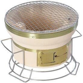 【送料無料!】BUNDOK スタンド付き七輪 BD-423炭火の美味しさを楽しめる七輪。