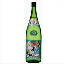 お歳暮 焼酎 泡盛 送料無料 久米仙 一升瓶 グリーン 30度 6本セット 沖縄 新酒 琉球泡盛 家飲み あわもり