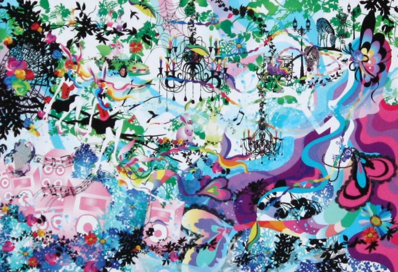 1053スーパースモールピースジグソーパズル『深海の楽園(ホラグチカヨ)』