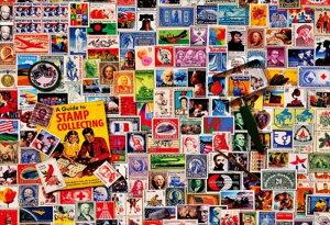 1000ピースジグソーパズル ヴィンテージアート 切手コレクター 《廃番商品》