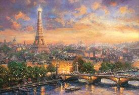 1000ピースジグソーパズル シティ オブ ラブ 〜パリ〜(トーマス・キンケード) 《廃番商品》