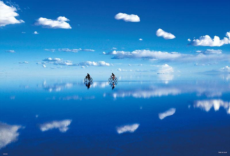 1000ピースジグソーパズル ウユニ塩湖