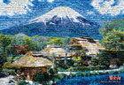 モザイクアート富士山
