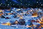 雪降る白川郷
