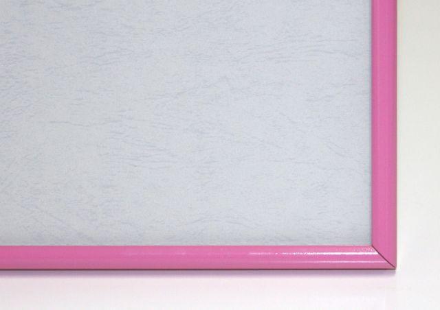 ジグソーパズル用アルミ製フレーム アルミパネル 38×53cm(5-B)ピンク