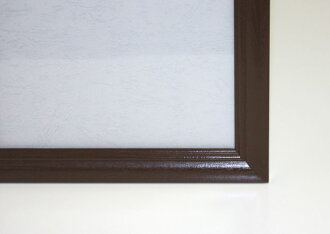 ★ 2 discount! ★ wooden jigsaw puzzle frame's wood-paneled 73 x 102 cm (20-T) Brown