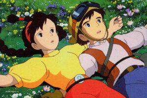 ミニパズル150ピース スタジオジブリ シネマart 2ショットシリーズ1 天空の城ラピュタ ラピュタ到着 (150-G05)