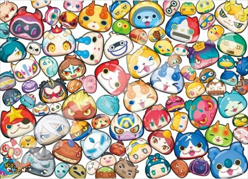 300ラージピースジグソーパズル『妖怪ウォッチぷにぷに 妖怪ぷに大集合』