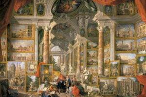 1000ピース 現代ローマの風景画ギャラリー 10-606