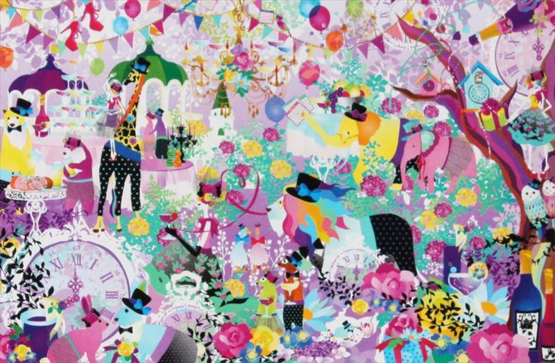 1500スモールピースジグソーパズル『このままパーティーが終わることのないように(ホラグチカヨ)』