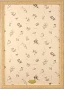 ジグソーパズル用フレーム ディズニーアートフィギュアパネル1000ピース用ナチュラル(51×73.5cm/10-T)