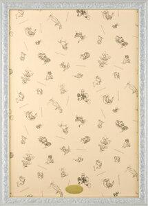 ジグソーパズル用フレーム ディズニーアートフィギュアパネル1000ピース用パールホワイト(51×73.5cm/10-T)