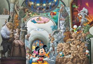 ディズニーシリーズ 108ピース ディズニー オールキャラクター ミュージアム