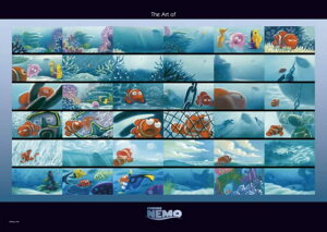 ディズニーシリーズ 300ピース アート オブ ファインディング・ニモ