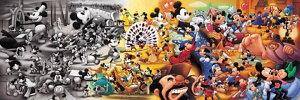 【引上品】950ピースジグソーパズル 歴代ミッキーマウス名場面集 《廃番商品》