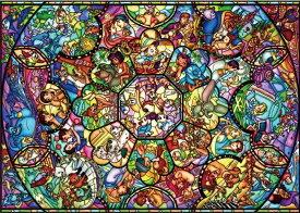 2000ピースジグソーパズル オールスターステンドグラス