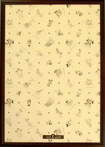 ジグソーパズル用フレーム ディズニー専用木製パネル1000ピース用ブラウン(51×73.5cm/10-T)