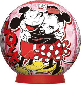 3D球体60ピースジグソーパズル コミック・ミッキー&ミニー 《廃番商品》