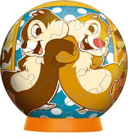 3D球体60ピースジグソーパズル コミック・チップ&デール 《廃番商品》