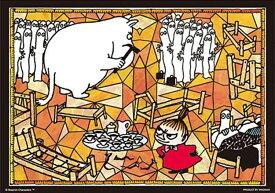 プリズムアート108ピースジグソーパズル ムーミン ニョロニョロのベッド 《廃番商品》