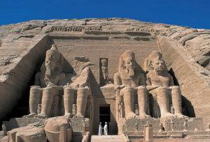 ジグソーパズルプチ 204ピース 海外の風景 アブ・シンベル大神殿(エジプト) 98-367