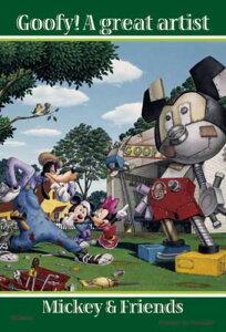 ジグソーパズルプチ 204ピース ディズニー 偉大なるアーティスト グーフィー編 98-442
