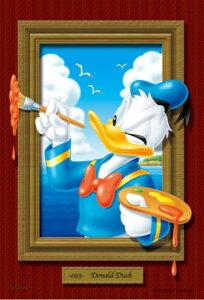 ジグソーパズルプチ 204ピース ディズニー マジカルアートギャラリー ドナルド 98-516