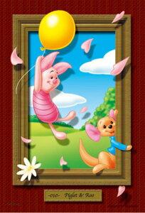 ジグソーパズルプチ 204ピース ディズニー マジカルアートギャラリー ピグレット&ルー 98-518