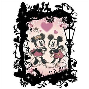 プリズムアート70ピースジグソーパズル KIRIART(キリアート)-Mickey&Minnie(ミッキー&ミニー)-