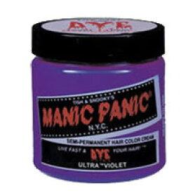 【バスソルトプレゼント】 MANIC PANIC マニックパニック ヘアカラークリーム ♯31 ウルトラヴァイオレット 118ml [ manic panic / ヘアカラー / 塗るタイプ / カラーリング / ウルトラ / バイオレット ]『4』【 定形外 送料無料 】