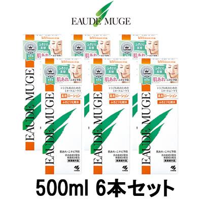 【 宅配便 送料無料 】 オードムーゲ 薬用ローション 500ml 6本セット 『4』