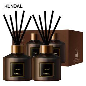 [KUNDAL公式]韓国No.1ブランドパフュームディフューザー200mlセット(2個入り) Perfume Diffuser 200ml set・ディフューザー・シンプル ・高級感・プレゼント・芳香剤・インテリア ・フレグランス
