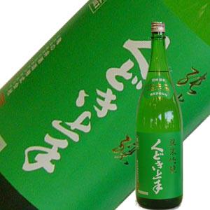 亀の井酒造 くどき上手 純米吟醸 酒未来 1.8L【H29BY】