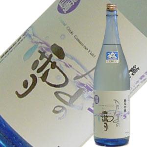 日本名水百選を仕込み水に使用した月山酒造 純米吟醸 月山の雪 1.8L